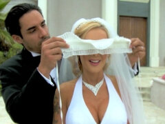 Slutty bride is cheating on her husband