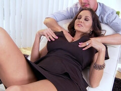Ava Addams talking dirty while getting stuffed with dick