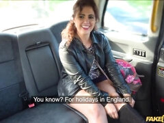 Sex in the car with a big-bottomed cheating MILF Montse Swinger