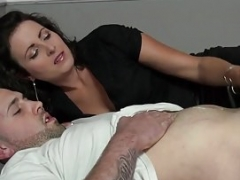 Hot Mom Oiled Handjob