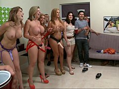 Pornstar party at a house party