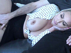 Waking up stepmother with my alarm cock-Nina Kayy