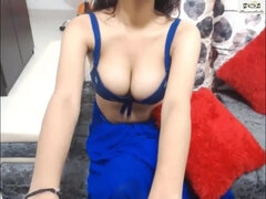 Puny Indian Teenie Lisa's Web Cam Demonstrate two