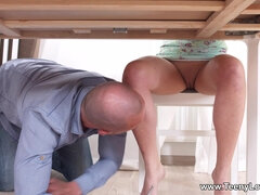 Cute Nymph Katty West - Assfucked Scene