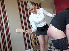 The relentless Aunty (FM spanking)