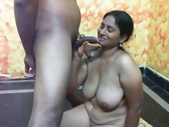 Indian slut with sizeable boobs having sex PART-5