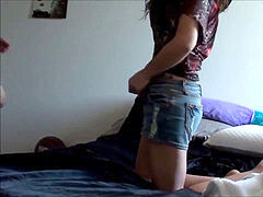 REAL first-timer teen SIBLINGS harsh SEX AT HOME
