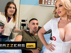 Extra Thick Nurse With Busty Tits Savannah Bond Gets Pounded - Hospital Fetish