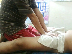 very red-hot indonesian massage with bulge