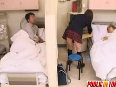 Lascivious Japanese Teenager Gets Nailed