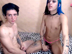 nubile Trap with her beau love kissings and fun