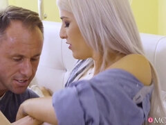 Blanche Summer Needs Creampie for horny Romanian