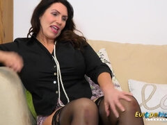 EuropeMaturE Bosomy Mom Cunt Drill Compilation