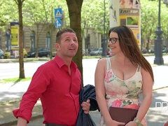 Cocky lad David Perry and buxom MILF Tasha Holz
