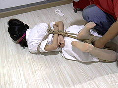 asian Bondage-Gagged 2Girl