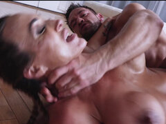 Stacked milf Aubrey Black does a great post-workout sex