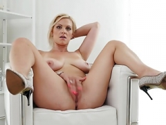 Large titted blonde Sexually available mom from Czech Rep.