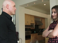 Bald guy fucked his friend's wife