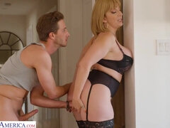 Sara Jay plays dirty - son and mom