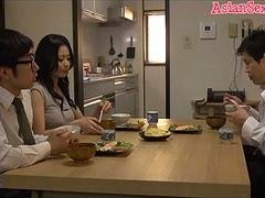 Horny Japanese girl Nana Aida in Hottest love bubbles, couple JAV movie
