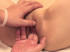 Godlike Anna Mibu giving a great blow job