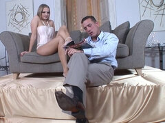 Ricardo Bell and Nikoletta Devis foot fetish porn