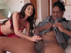 Sophia Leone - Interracial Monster Male Pole Challenge With Sophia Leone - sophia leone