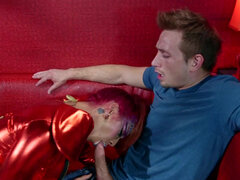 Alien roleplay fuck with Veronica Rose in killer kleavage from outer space