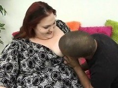 Huge heavyweightty woman is feeling heavyweight fuck pole in mouth and snatch