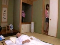 Japanese Wife take Care Father in Law eng sub piece 1