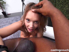 girl From The South With thick ass Fucks Her First Black Guy