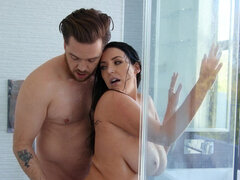 Angela White puts her bf's cock in every hole