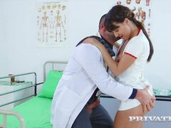 Student Nurse Suzy Rainbow Fucks the Cardiologist