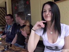 The sweetest waitress in Prague
