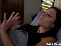 Stepmom And Stepson Share A Bed - Mandy flores