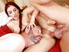 Addison Ryder cheats on her floozy hubby