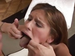 Backdoor Get down and dirty OF RUSSIAN Young-looking BEAUTY AND CUM IN THE MOUTH