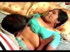 indian aunty enticing brother in law