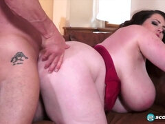 chubby Anna Beck crazy MILF porn video