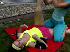 Tickle Toning, The New Fitness Craze - Cam 1