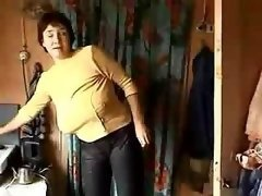 Margo – single grown-up big-tittied Russian dame dying for some dicking