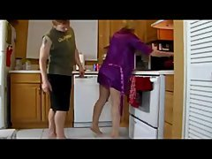 Bang Milf In The Kitchen
