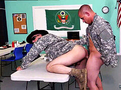 Army homosexual guy rock-hard cock movieture He occasionally heads over board but