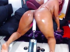 Latina And furthermore Her Machine