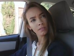 Charity Crawford fellatio Uber driver step bro