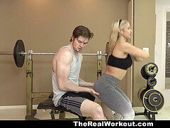 TeamSkeet - fitness Trainer milf porks Client For Free