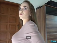 Public Agent (FakeHub): Hot Russian Fucked in a Garage