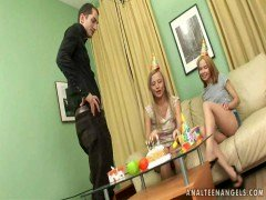 Twins Broads Backdoor Have an intercourse