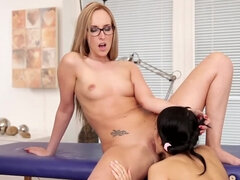 There is a thin line between naked massage and lesbian sex