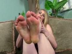 underwear ho gives footjob interracial